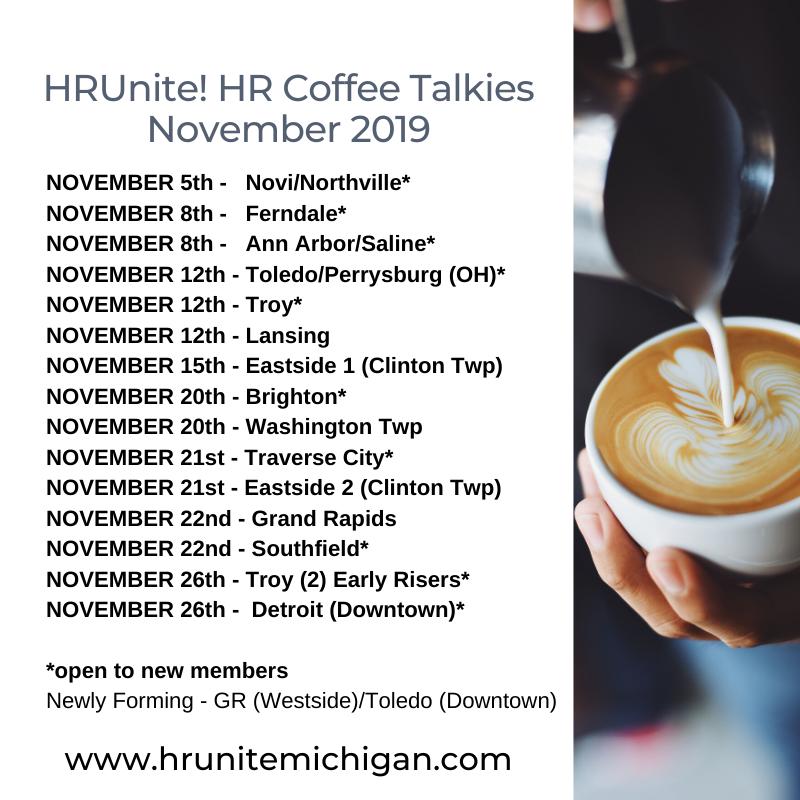 HR Coffee Talkies Nov 2019